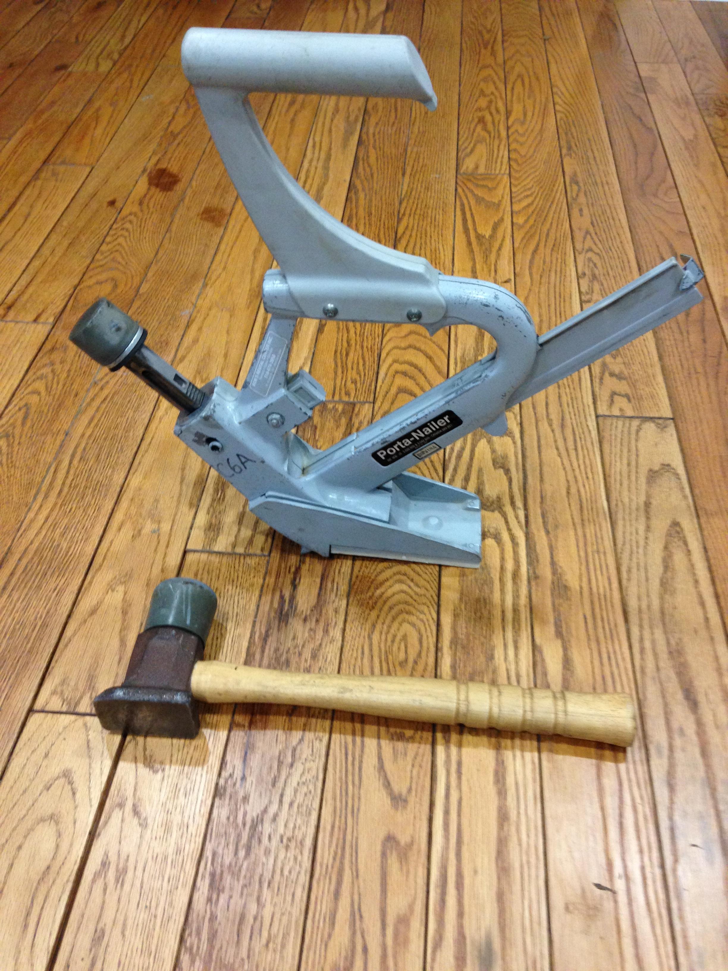 Floor Installation, Floor Nailer, Manual ...